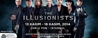 The Illusionists Dünyanın En İyi Sihirbazları İstanbul'da afiş
