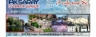 Aksaray Günleri Feshane'de afiş