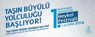 1.Beylikdüzü Ulusrarası Heykel Festivali afiş