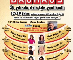 Marmara Forum Bauhaus 3.Yıl Etkinlikleri
