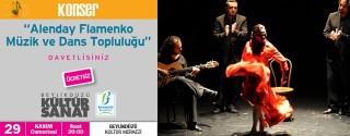 Alenday Flamenko Müzik ve Dans Topluluğu afiş