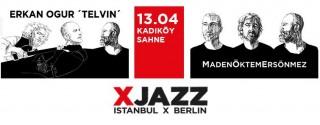 Erkan Oğur – Telvin & Madem Öktem Ersönmez  Konseri afiş
