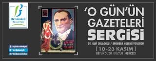 O Gün'ün Gazeteleri Sergisi afiş