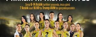 Dünya Voleybolunun Tüm Kupaları Trump AVM'de afiş