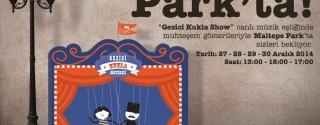 Gezici Kukla Show Maltepe Park'ta afiş