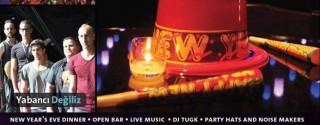 Hard Rock Cafe Istanbul'da Yılbaşı Bir Başka Olacak afiş