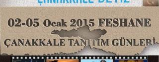 Feshane Çanakkale Tanıtım Günleri afiş