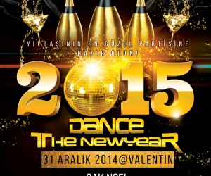 Dance The New Year Valentin 2015