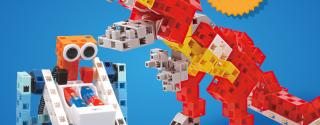 Haydi Çocuklar Gerçek Bir Robot Yapmaya Var mısınız? afiş