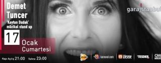 Demet Tuncer Kaytan Dudak Müzikal Stand Up afiş