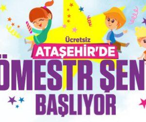 Ataşehir'de Sömestr Şenliği Başlıyor!