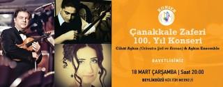 Çanakkale Zaferi 100.Yıl Konseri afiş