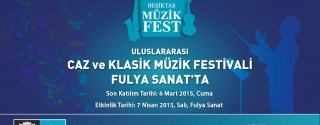 Beşiktaş Müzik Fest afiş