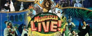 Madagascar Live! afiş
