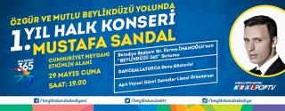 Ücretsiz Mustafa Sandal Konseri afiş