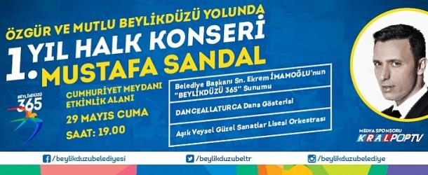 Ücretsiz Mustafa Sandal Konseri