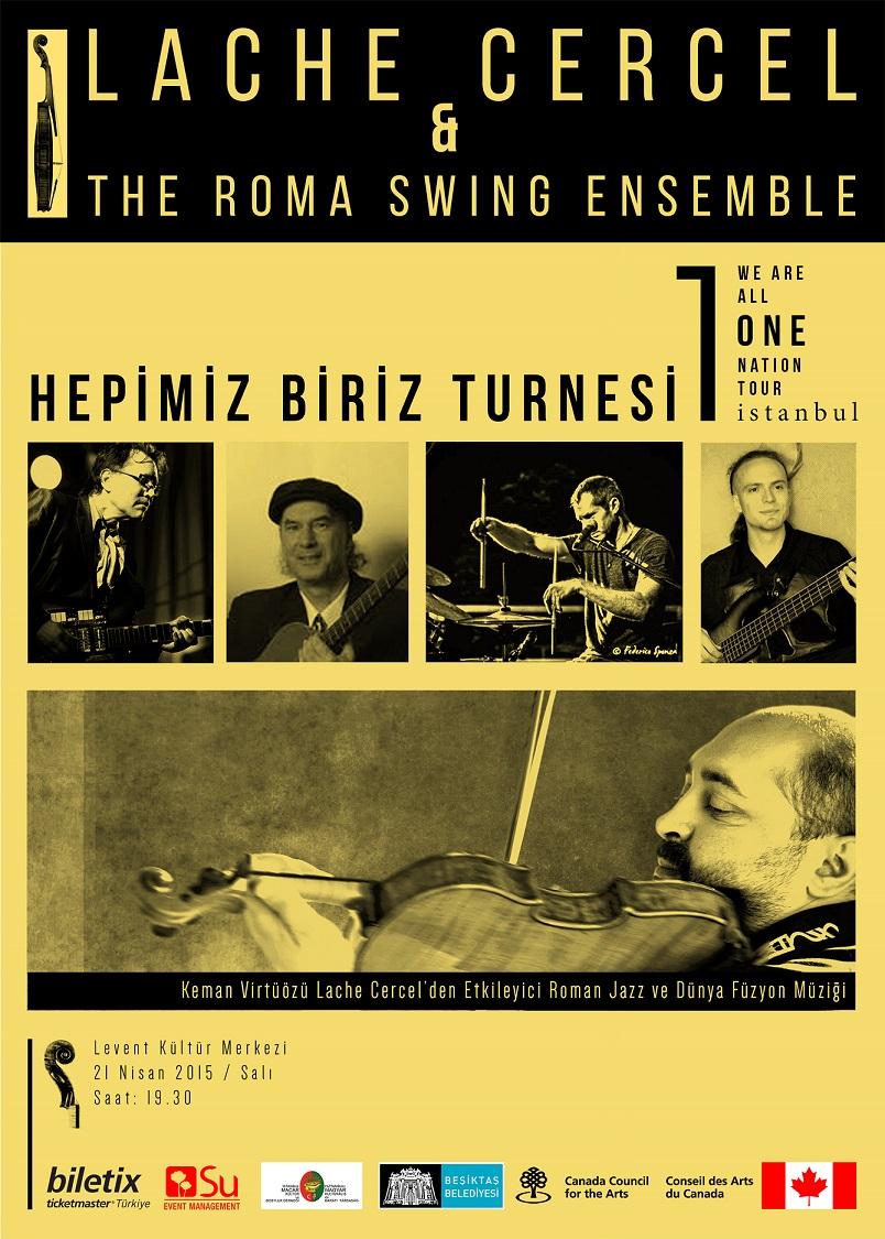 lache cercel the roma swing ensemble etkinlik stanbul. Black Bedroom Furniture Sets. Home Design Ideas