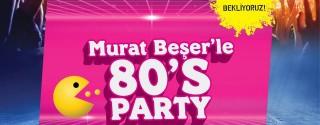 Murat Beşer'le 80′s Partisi afiş