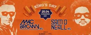 King's Day 2015 – Mac Brown & Sam O Neall @ 360 Istanbul afiş