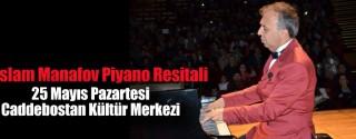 İslam Manafov Piyano Resitali afiş