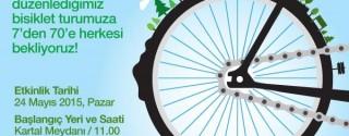 Daha Yeşil Bir Dünyaya Pedal Çeviriyoruz afiş