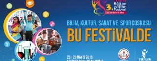 Esenler Eğitim ve Bilim Festivali afiş