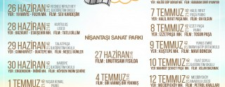 Şişli'de Yazlık Sinema afiş
