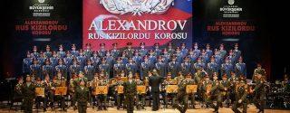 Aleksandrov Kızılordu Korosu ve Dans Topluluğu afiş