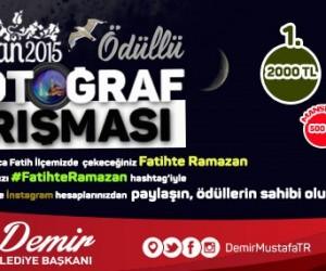 Fatih'te Ramazan 2015 Ödüllü Yarışma