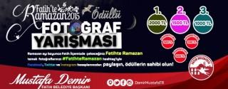 Fatih'te Ramazan 2015 Ödüllü Yarışma afiş