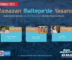 Ramazan Maltepe'de Yaşanır