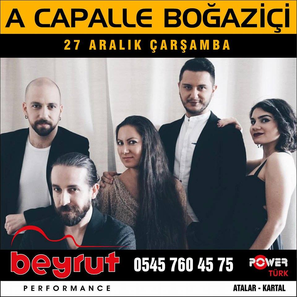 A Capella Boğaziçi Konseri