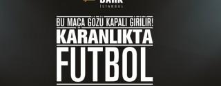 Türkcell Karanlıkta Futbol afiş