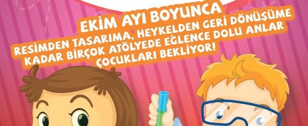 212 İstanbul Power Outlet'te Mutlu Çocuklar