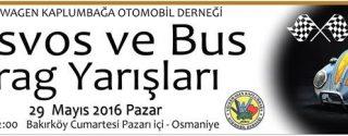 Vosvos ve Bus Drag Yarışları afiş