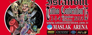 İstanbul Tattoo Convention 2015 afiş