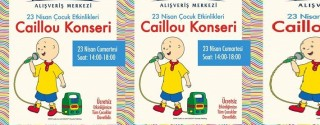 Caillou Konseri afiş