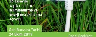 Enerji Verimliliği Paneli'15 afiş