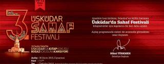 3.Üsküdar Sahaf Festivali afiş
