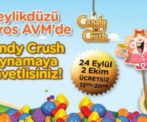 Candy Crush Beylikdüzü Migros AVM'de!