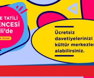 Şişli Belediyesi Yarıyıl Tatil Etkinlikleri