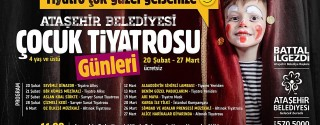 Novada Ataşehir AVM'de Ücretsiz Çocuk Tiyatroları afiş