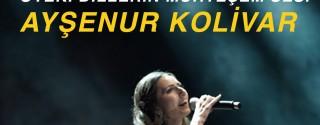 AYŞENUR KOLİVAR KONSERİ afiş