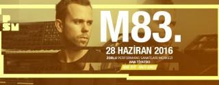 M83 Konseri afiş