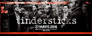 Tindersticks Konseri afiş