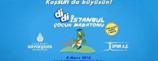 İstanbul Çocuk Maratonu afiş