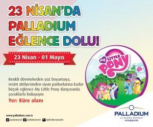 23 Nisan'da Palladium Eğlence Dolu