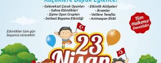 Üsküdar 23 Nisan Şenlikleri afiş