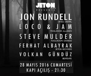 Jeton Records Presents; John Rundell-Loco &Jam-Steve