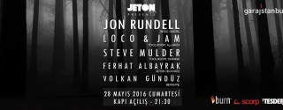 Jeton Records Presents; John Rundell-Loco &Jam-Steve afiş